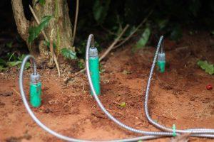 Sensores de solo como alternativa de tensiômetros